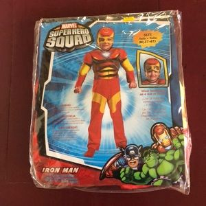 Iron Man Marvel SuperHero Squad Costume